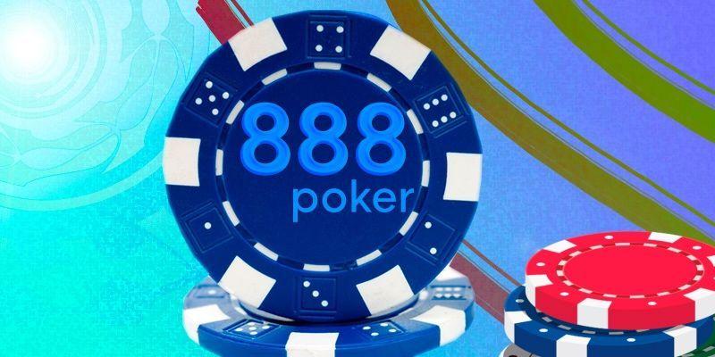 888Poker game