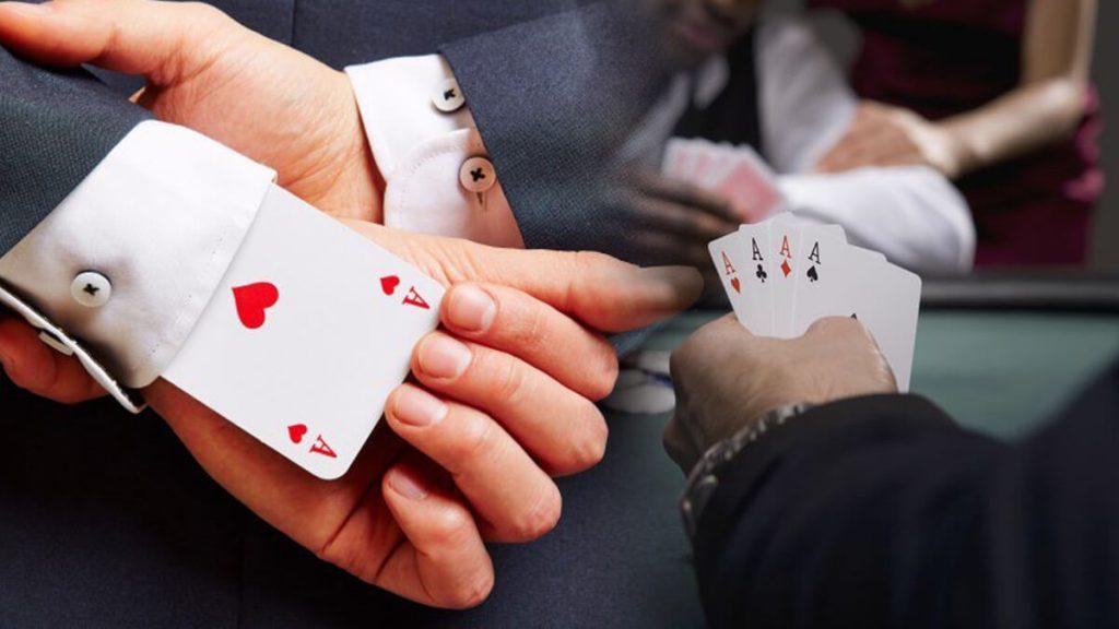 Texas Hold'em Cheating