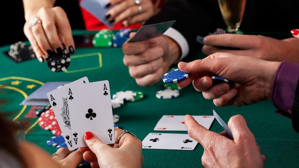 Risks in the game of poker