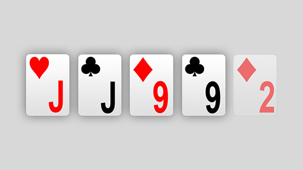 Two pair in poker