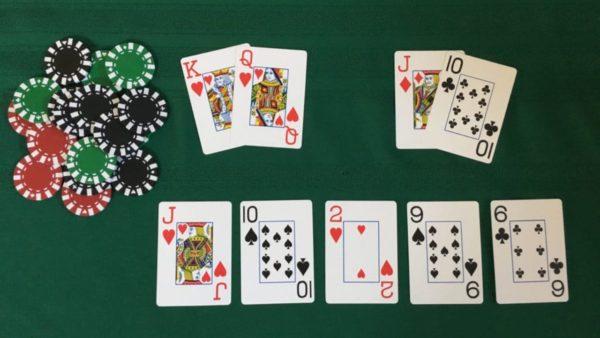 Texas Hold'em game
