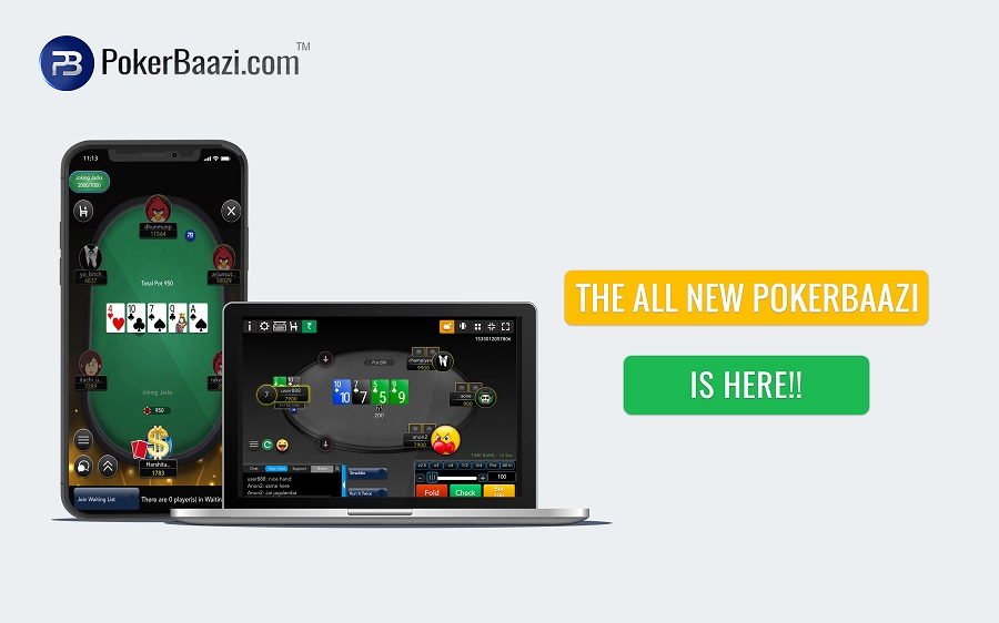 PokerBaazi application