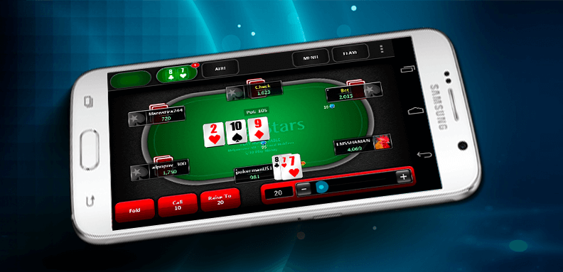 PokerStars mobile application